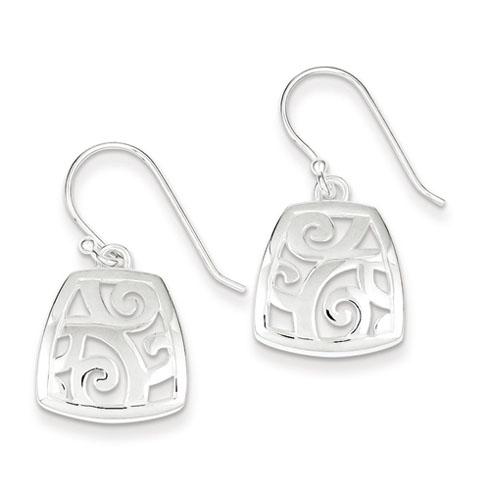 Sterling Silver Fancy Polished Earrings