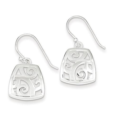 Sterling Silver Fancy Polished Earrings