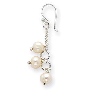 Sterling Silver Freshwater Cultured Pearl Earrings