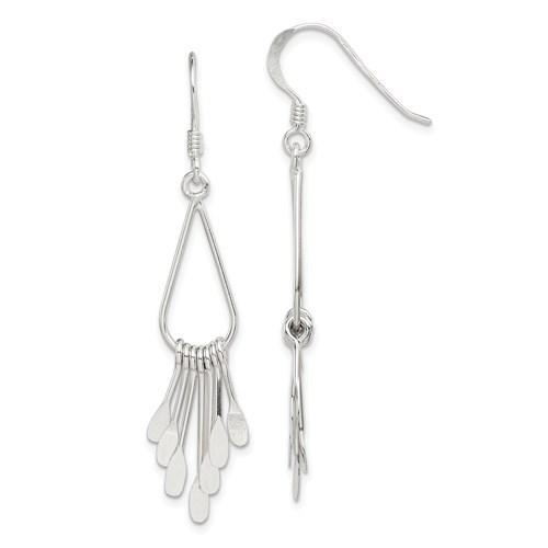 2 1/4in Fancy Earrings - Sterling Silver
