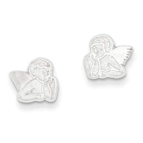Angel Mini Earrings - Sterling Silver