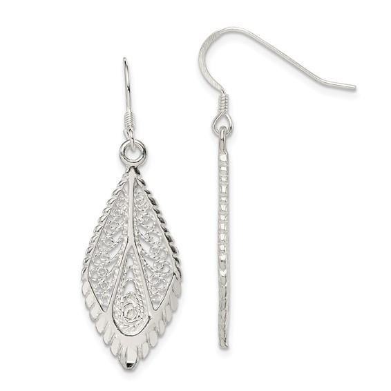 Sterling Silver Filigree Earrings