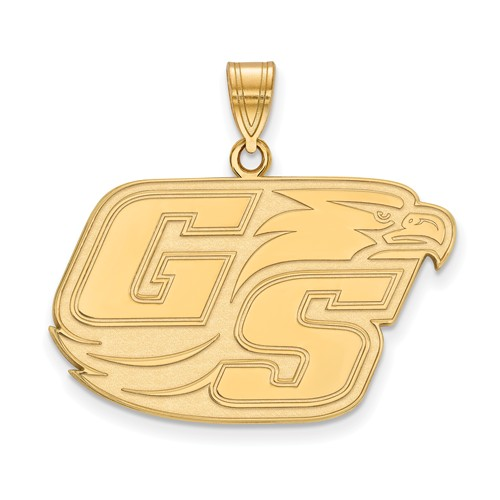 10k Yellow Gold Georgia Southern University GS Pendant 7/8in