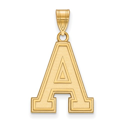 United States Military Academy Logo Pendant 3/4in 10k Yellow Gold