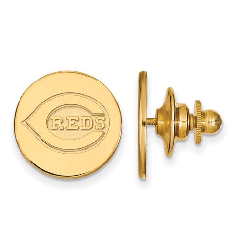 14k Yellow Gold Cincinnati Reds Lapel Pin