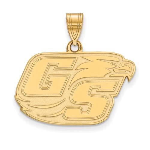14k Yellow Gold Georgia Southern University GS Pendant Medium