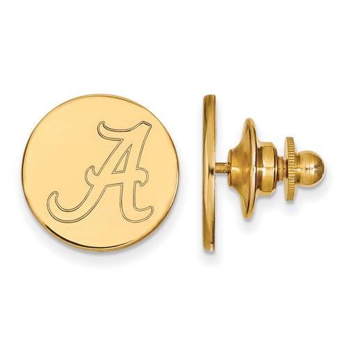 14kt Yellow Gold University of Alabama Lapel Pin