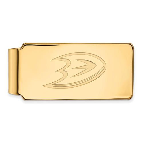 14k Yellow Gold Anaheim Ducks Money Clip