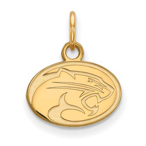 10kt Yellow Gold 3/8in University of Houston Cougar Pendant