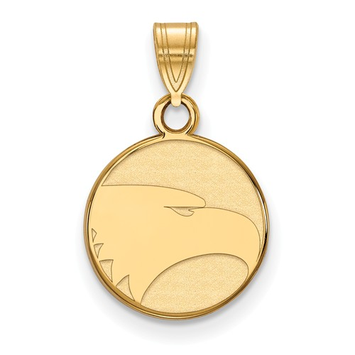 14k Yellow Gold Georgia Southern University Eagle Charm 1/2in