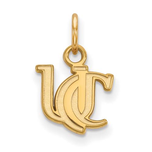 10k Yellow Gold 3/8in University Of Cincinnati UC Charm