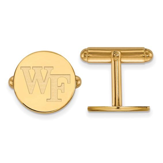 Wake Forest University WF Lapel Pin 14k Yellow Gold