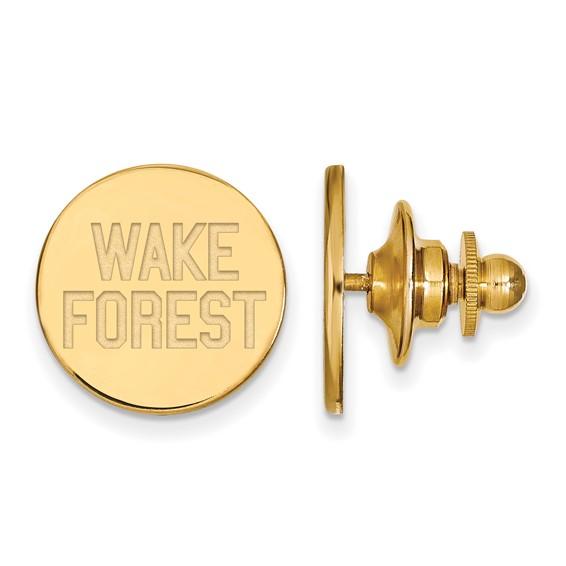 Wake Forest University Lapel Pin 14k Yellow Gold