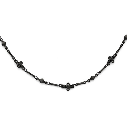 Black-plated Downton Abbey 36in Necklace