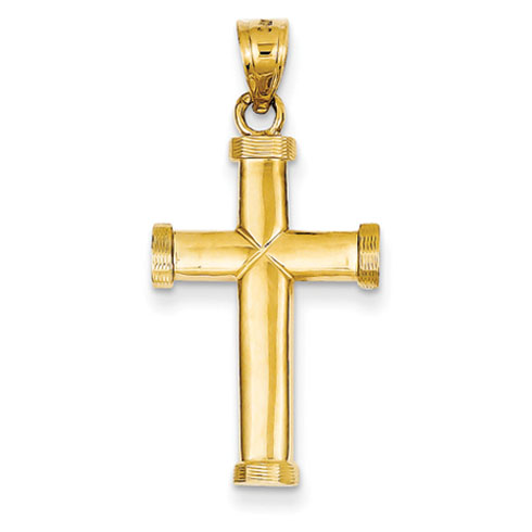 15/16in Latin Cross - 14kt Gold