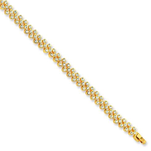 Jacqueline Kennedy 7in Tennis Bracelet with 1in Extender