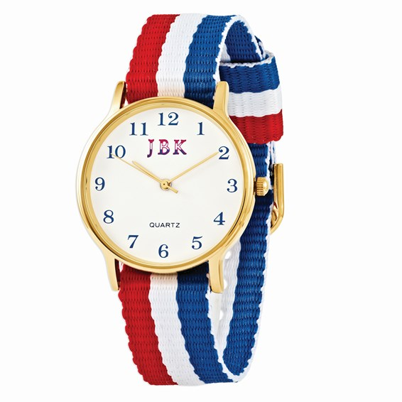 Jacqueline Kennedy American Flag Watch