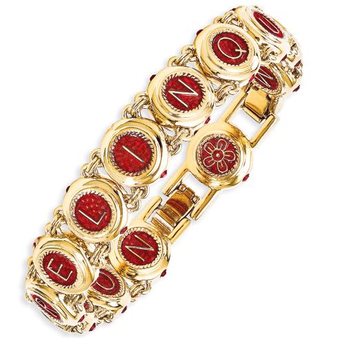 Jacqueline Kennedy 7in Swarovski Crystal Castellani Wedding Bracelet