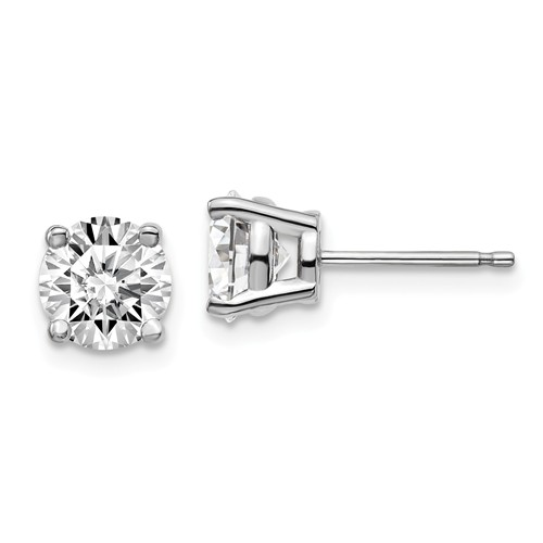 a97d05ee2 14k White Gold 2 ct Certified Lab Grown Diamond Stud Earrings  EM1006-200C-WLG