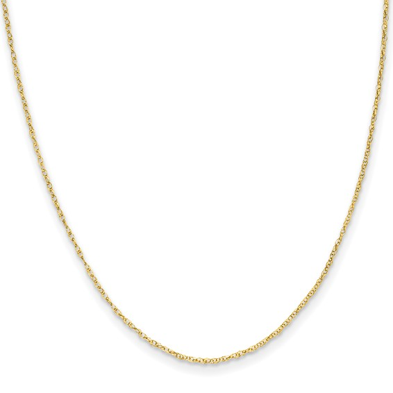 14kt Yellow Gold 13in Madi K Child's Rope Chain