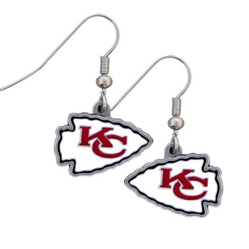 Kansas City Chiefs NFL Dangling Earrings