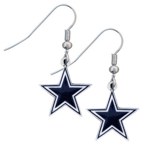 Dallas Cowboys NFL Dangling Earrings