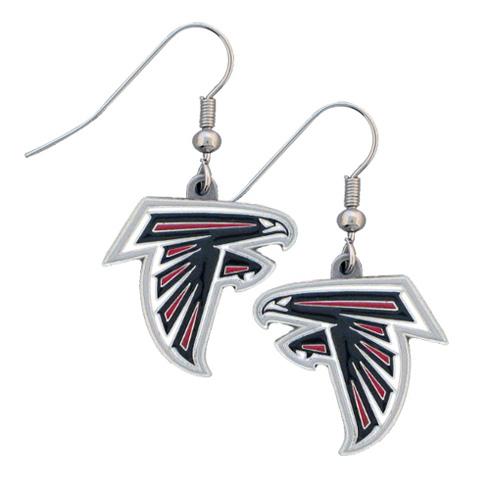 Atlanta Falcons NFL Dangling Earrings