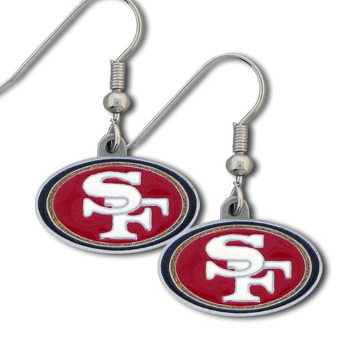 San Francisco 49ers NFL Dangling Earrings