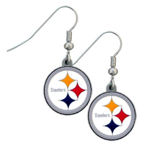 Pittsburgh Steelers NFL Dangling Earrings