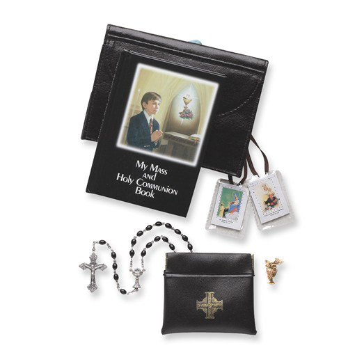 First Communion Boy Five Piece Gift Set