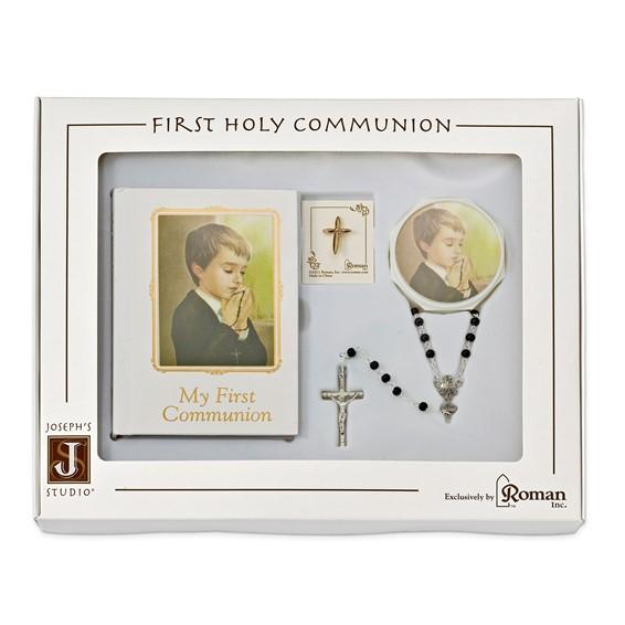 First Communion Boy Five Piece Book Gift Set