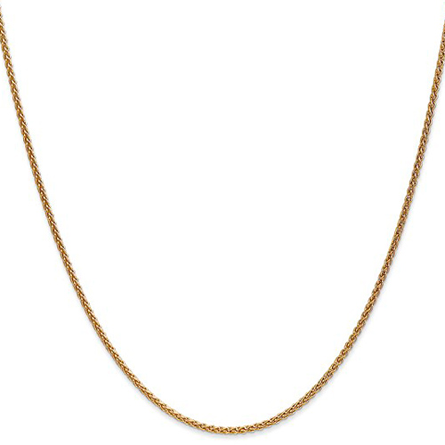 14kt Yellow Gold 20in Spiga Chain 1.65mm