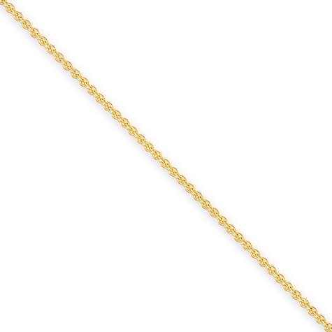 14kt Yellow Gold 16in Cable Chain 2mm