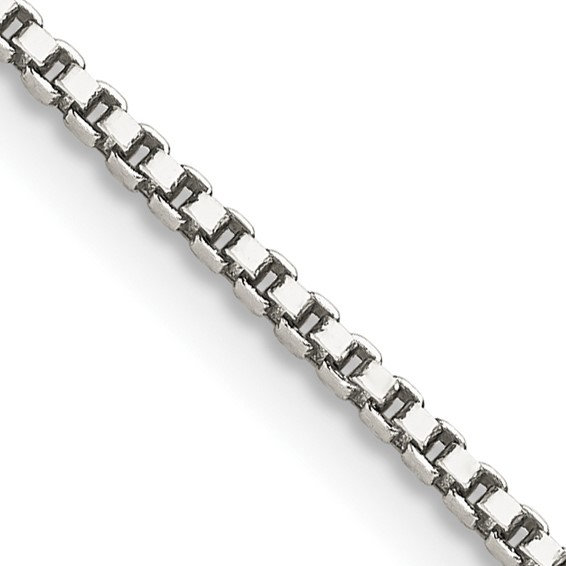 Sterling Silver 9in Box Chain 1.4mm