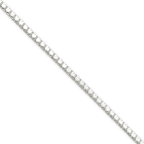 30in Box Chain 2.5mm - Sterling Silver