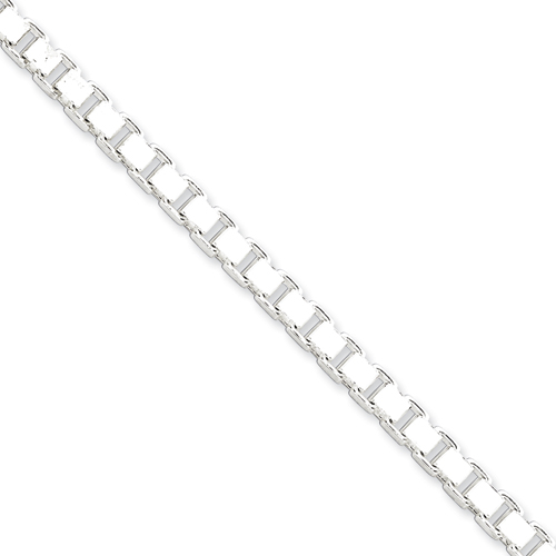 Sterling Silver 18in Box Chain 4.5mm