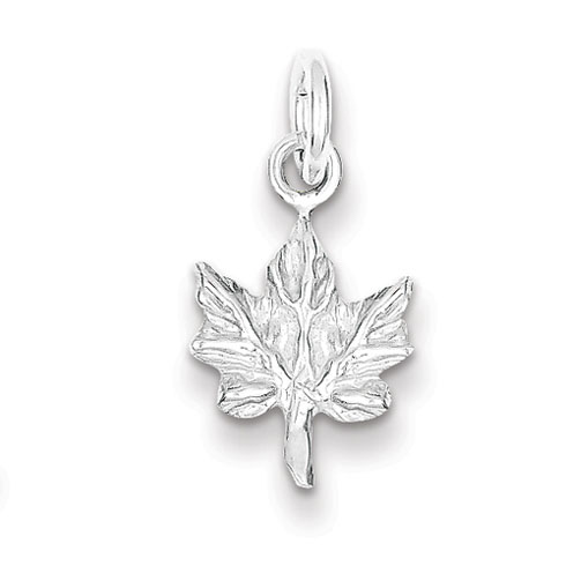 Sterling Silver Maple Leaf Charm