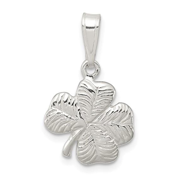 Sterling Silver 4-leaf Clover Charm