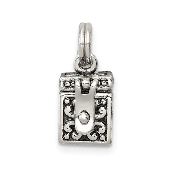Sterling Silver Angel Box Charm