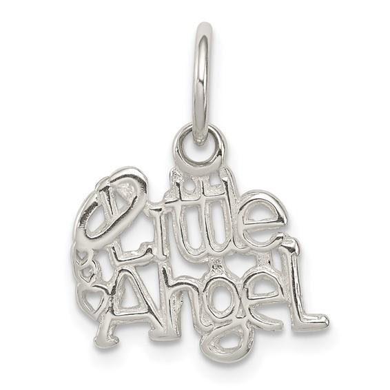 Little Angel Charm 7/16in - Sterling Silver