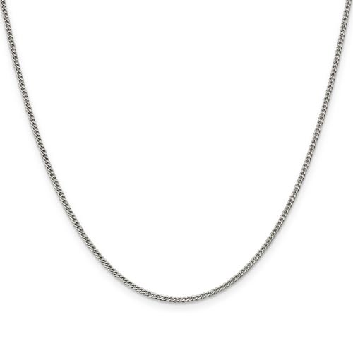 9in Curb Chain 1.75mm - Sterling Silver