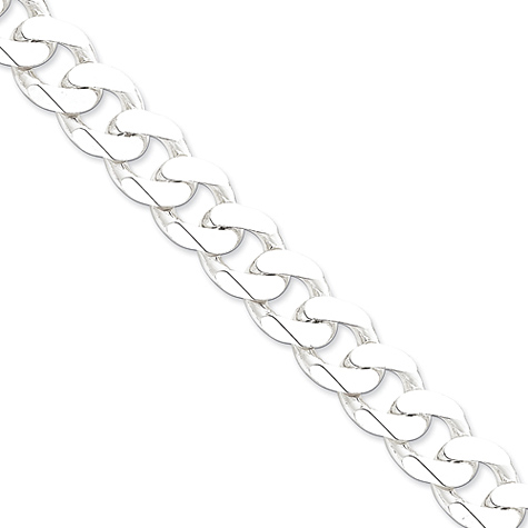 20in Curb Chain 15mm - Sterling Silver