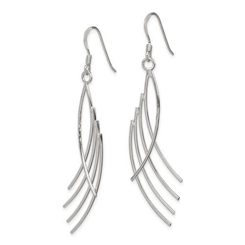 Sterling Silver Fancy Earrings