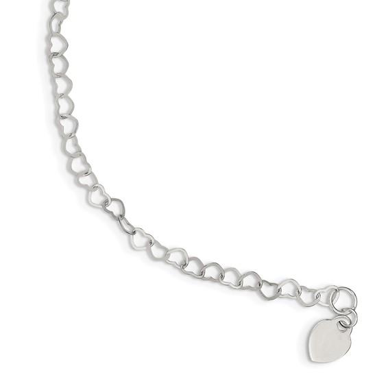 7.5in Fancy Link Bracelet - Sterling Silver