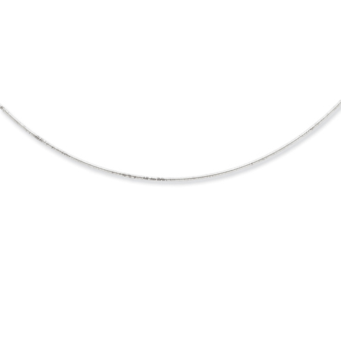 16in x 1mm Neckwire - Sterling Silver