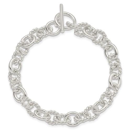 8.75in Fancy Toggle Bracelet