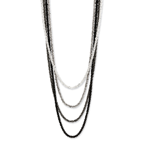 Sterling Silver Cascade 16 1/2in Necklace