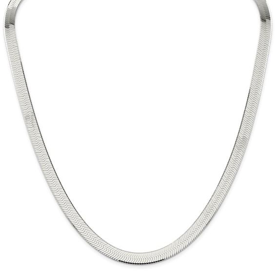 18in Magic Herringbone Chain 8mm