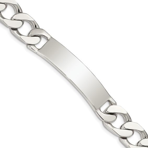 8.5in Curb Link ID Bracelet