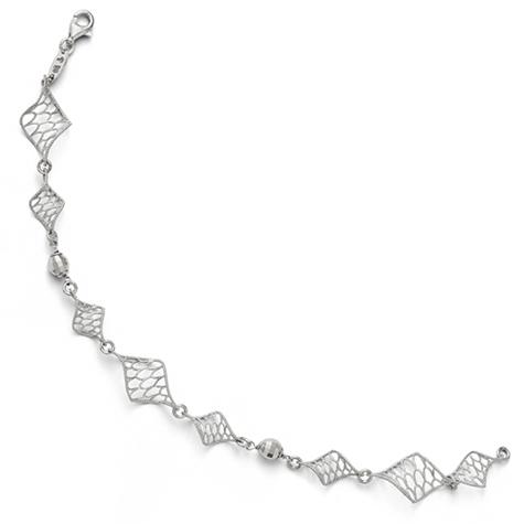 7 1/2in Sterling Silver Twist Bracelet